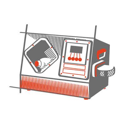 Analizzatore elettromagnetico di bottiglie e liquidi