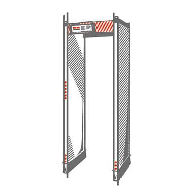 metal detector a transito